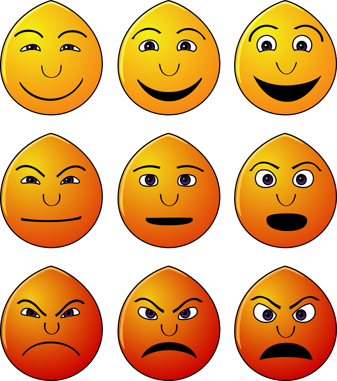 How to Make an Angry Face